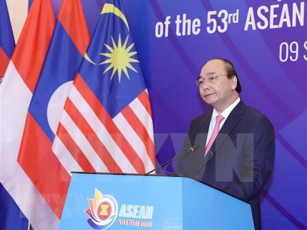 ASEAN 2020:第53届东盟外长会议以视频方式召开 hinh anh 1