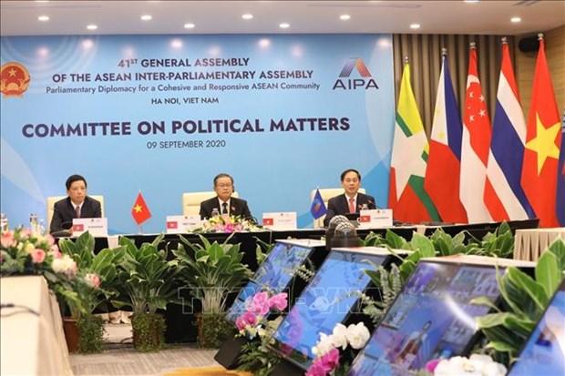 AIPA 41:致力于东盟可持续和平与安全的议会外交 hinh anh 1