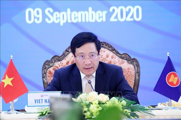 AMM 53:中国承诺促进与东盟合作应对国际和地区挑战 hinh anh 1