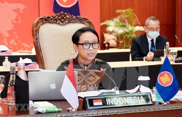 AMM 53:印度尼西亚强调和平与稳定的重要性 hinh anh 1