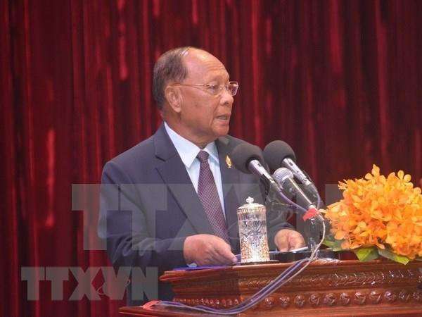 AIPA 41:柬埔寨支持越南国会提出关于举行年轻议员会议的倡议 hinh anh 1