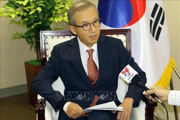 AMM 53:韩国驻东盟大使高度评价越南的领导能力 hinh anh 1