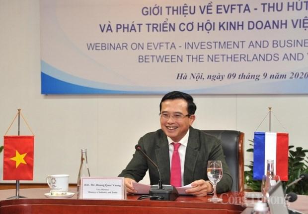 EVFTA给越南与荷兰经贸合作带来商机 hinh anh 2