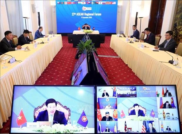 AMM 53: 柬埔寨再次重申促进东盟与各伙伴关系的承诺 hinh anh 1