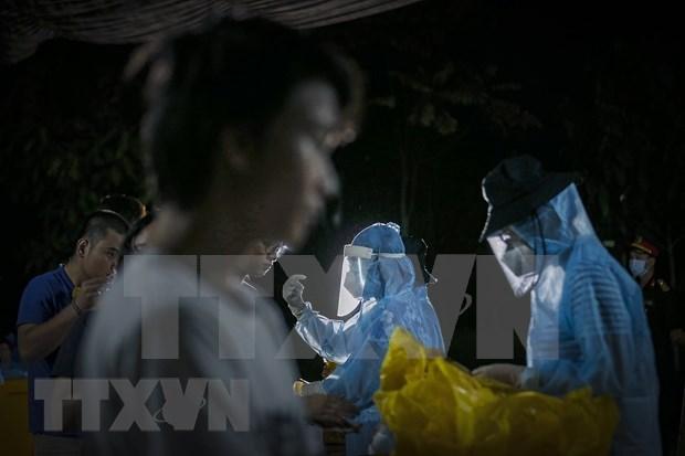 越南连续10天无新增本地新冠肺炎确诊病例 hinh anh 1