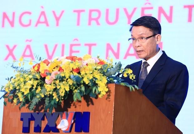 政府总理阮春福:越通社继续保持党和国家可靠信息中心的地位 hinh anh 3