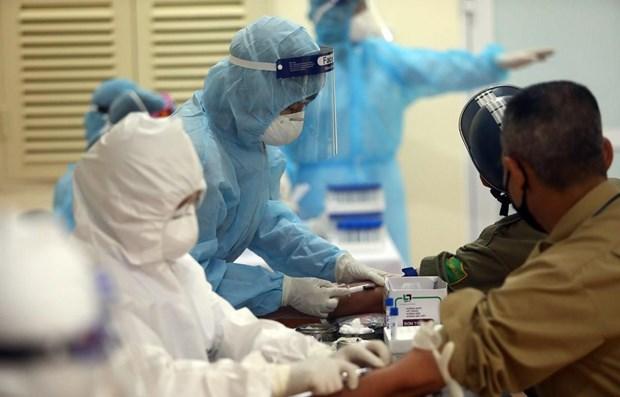 越南无新增新冠肺炎确诊病例 累计确诊病例1063例 hinh anh 1