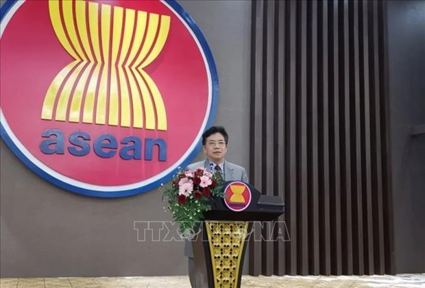 AMM 53:中国愿继续积极支持越南东盟轮值主席国工作 hinh anh 1