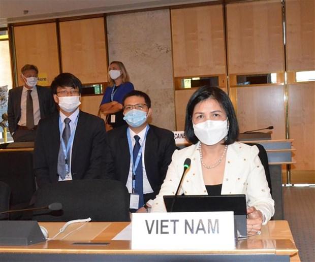 联合国人权理事会第四十五届会议开幕 hinh anh 1