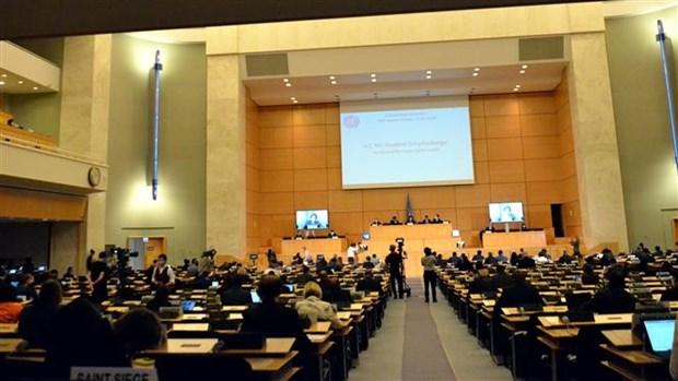 联合国人权理事会第四十五届会议开幕 hinh anh 2