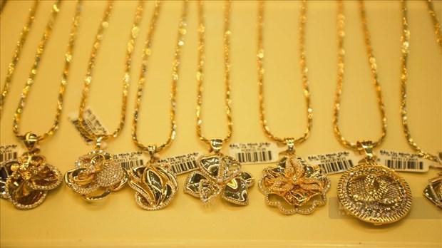 9月16日上午越南国内黄金价格下降15万越盾 hinh anh 1