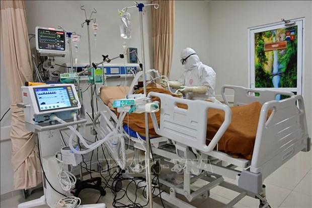 印尼和菲律宾两国单日报告新增新冠肺炎确诊病例3500例以上 hinh anh 1