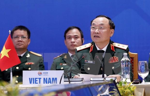 ASEAN 2020: 加强军事合作 致力于一个齐心协力与主动适应的东盟 hinh anh 1
