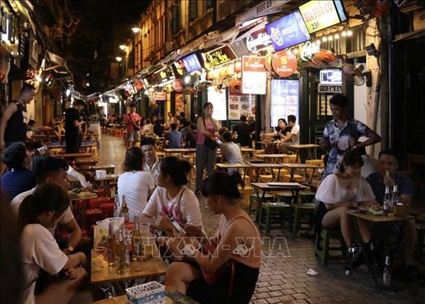 自9月16日起河内酒吧、KTV、舞厅等娱乐场所恢复营业 hinh anh 1