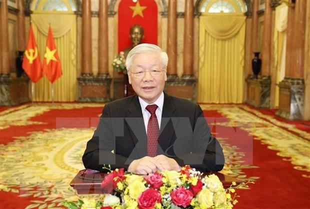 越南高层领导人将以讲话录像方式参与第75届联大辩论和系列高级别会议 hinh anh 1