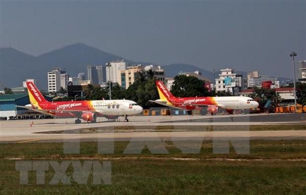 受第五号台风影响 岘港、朱莱和富牌等机场被暂时关闭 hinh anh 1