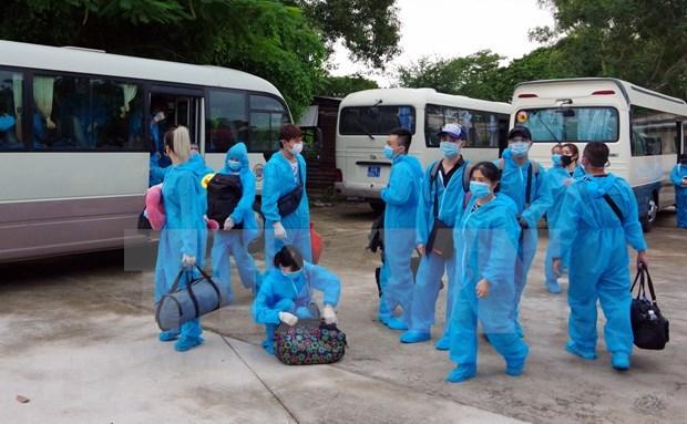 9月17日下午越南新增3例输入性新冠肺炎确诊病例 hinh anh 1