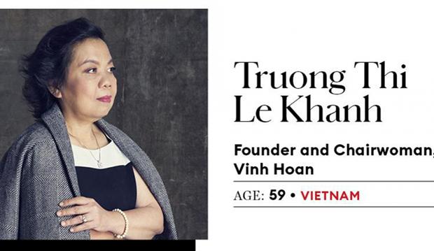 2020年亚洲商界最具影响力女性榜出炉 越南两位代表名列其中 hinh anh 2