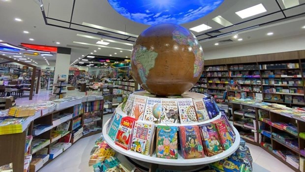 新越书店、咖啡厅和教育游乐场正式开门迎客 hinh anh 1