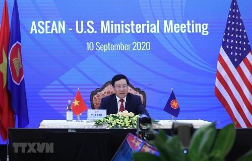 美国临时代办高度评价越南在东盟主席岗位上的努力 hinh anh 1