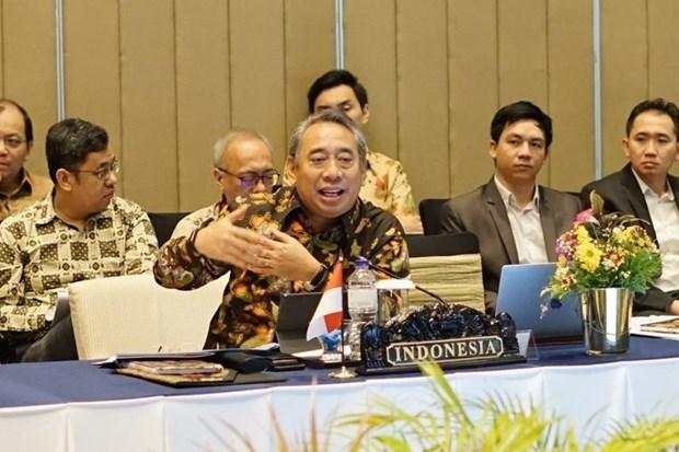 印尼驻东盟大使高度评价越南在第53届东盟外交部长会议上的引领作用 hinh anh 1