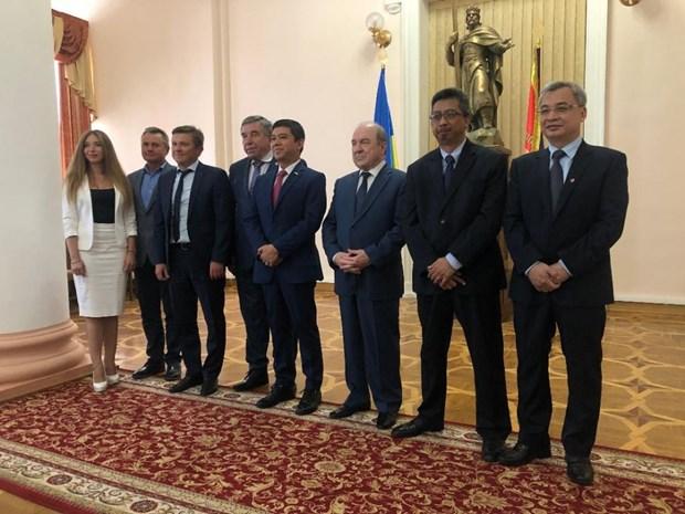 东盟与乌克兰努力加快东盟中心成立进程 hinh anh 1