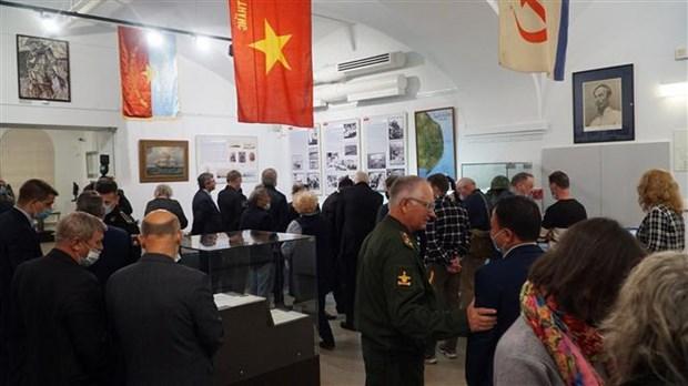 """""""金兰:越俄军事合作""""展览会在圣彼得堡举行 hinh anh 1"""