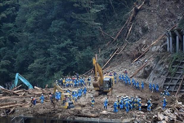 日本找到超强台风海神中失踪越南实习生遗体 hinh anh 1