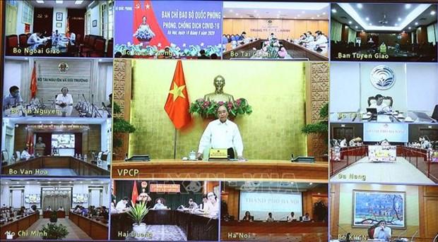 阮春福总理:每个国际航班实施针对性的具体防疫方案 hinh anh 1
