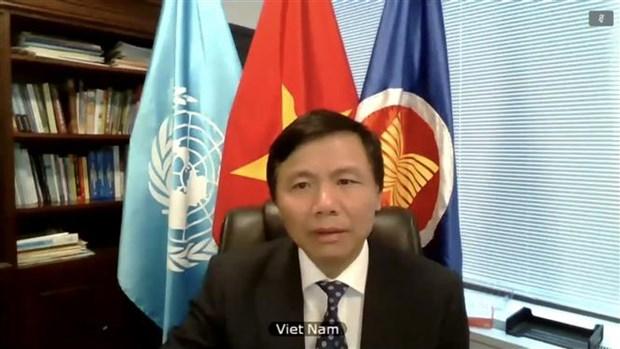 联合国安理会就气候变化和环境退化对国际和平与安全的影响等问题展开讨论 hinh anh 2