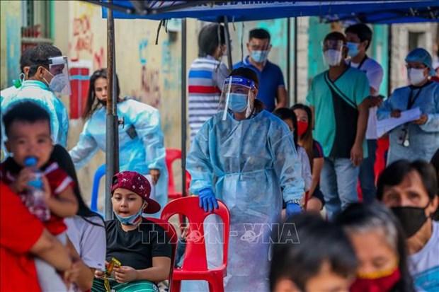 菲律宾和印尼单日新增确诊病例继续超过3000例 hinh anh 1