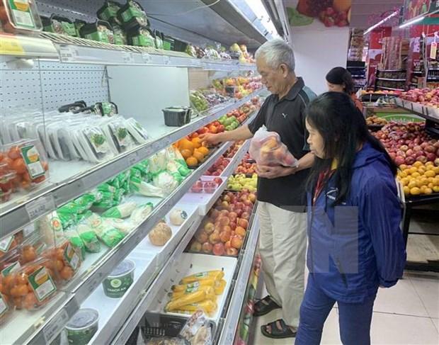 2020年8月永福省社会消费品零售总额和服务消费额增长近13% hinh anh 1