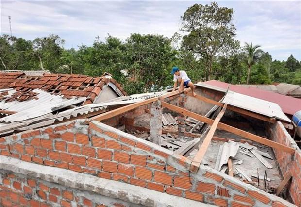 第五号台风对越南中部各地造成严重的人员和财产损失 hinh anh 1