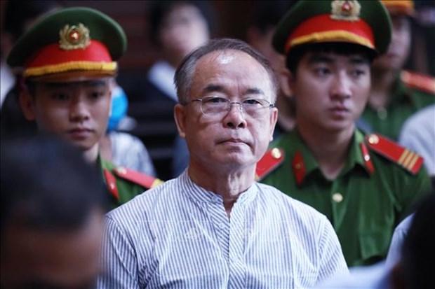 原胡志明市人民委员会副主席阮成才被判有期徒刑8年 hinh anh 1