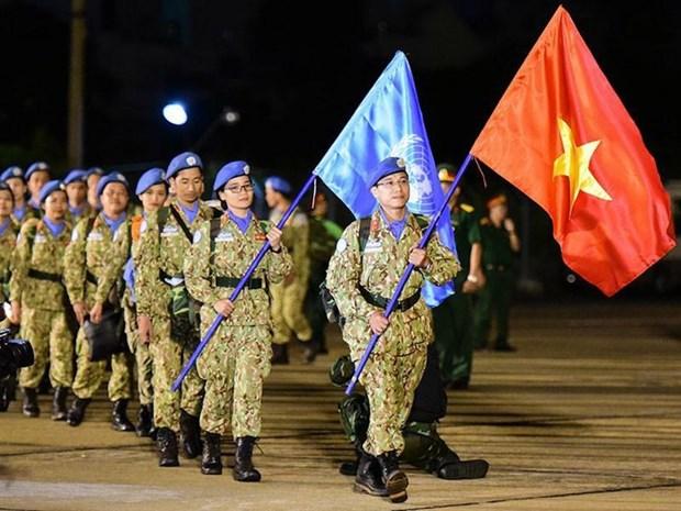 越南加入联合国43周年:越南一向主动参与并为联合国各项活动作出切实贡献 hinh anh 1
