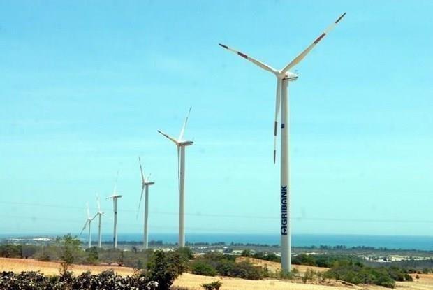 越南可再生能源领域最具规模的外资项目正式动工兴建 hinh anh 1