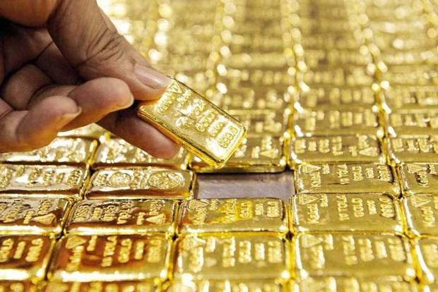 9月21日上午越南国内黄金价格略增 hinh anh 1