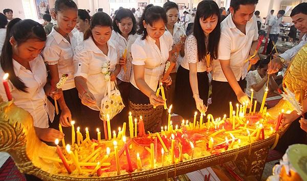 柬埔寨亡人节期间接待国内外游客111万人次 hinh anh 1