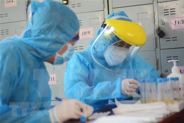 新冠肺炎疫情:为出境人员发放无感染新冠病毒证明书创造便利条件 hinh anh 1