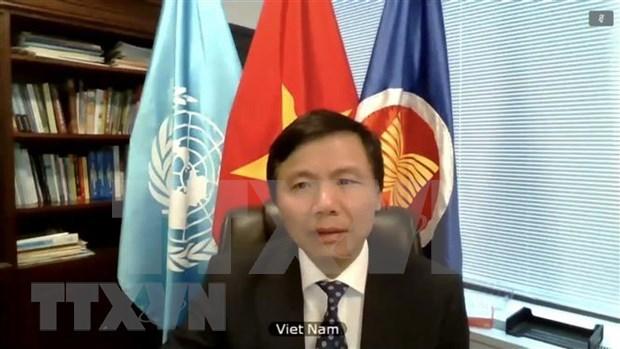 越南为联合国做出积极和切实的贡献 hinh anh 2