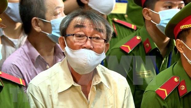 胡志明市人民法院开庭审理袭击派出所的恐怖分子 hinh anh 1