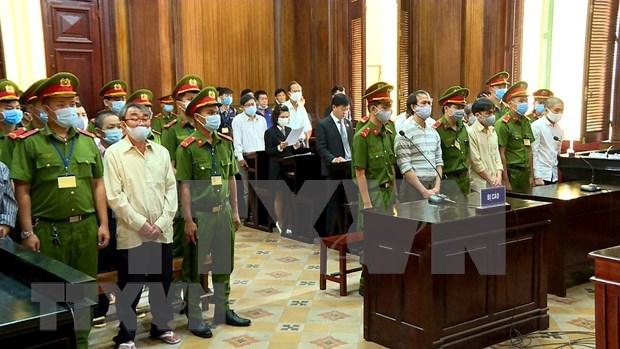 胡志明市人民法院开庭审理袭击派出所的恐怖分子 hinh anh 2