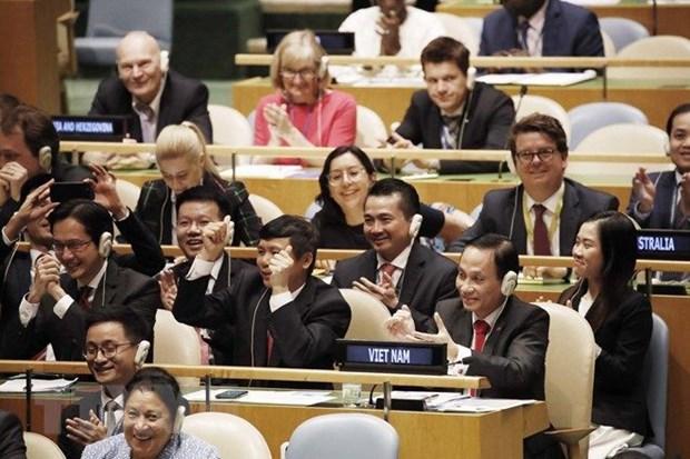 越南在世界最大多边论坛上留下的烙印 hinh anh 2