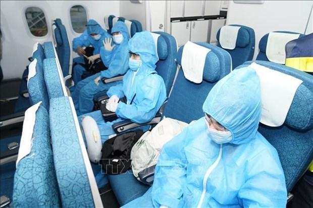 一名外国公民离开越南后被检测出新冠病毒阳性 hinh anh 1
