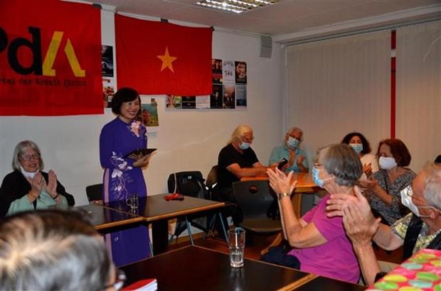 瑞士劳动党举行越南宣读独立宣言75周年纪念仪式 hinh anh 1