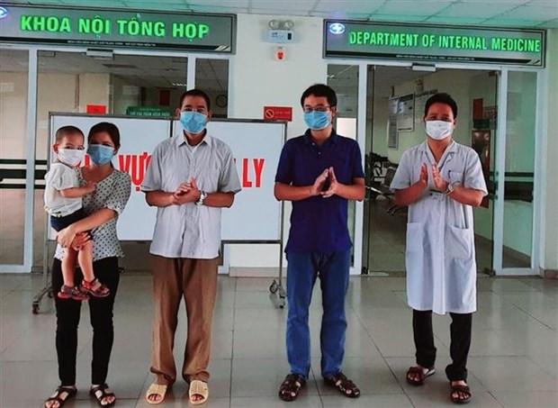 越南无新增新冠肺炎确诊病例 新增治愈病例10例 hinh anh 1