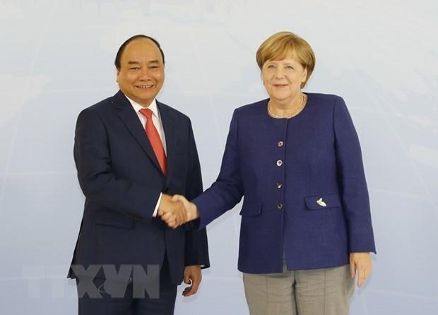 越南与德国关系焕发出持久而强大的生命力 hinh anh 1