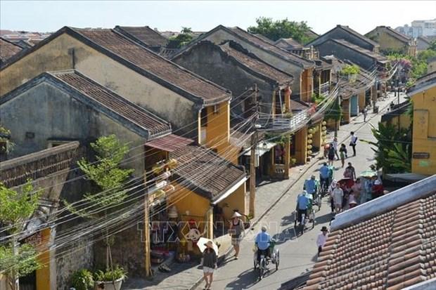 越南旅游:会安各旅游景点重新开门迎客 hinh anh 1