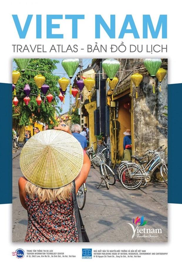 """""""越南旅游地图集""""第十版正式发行 hinh anh 1"""