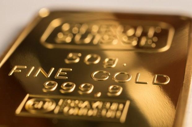 9月24日上午越南国内黄金价格降至5600万越盾以下 hinh anh 1